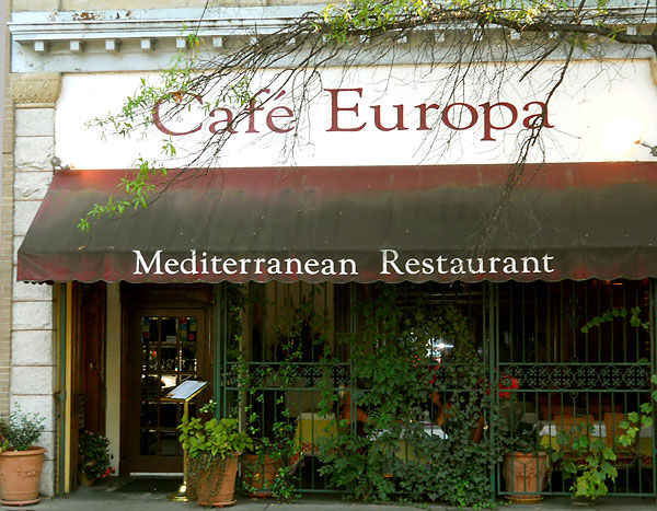 Cafe-Europa in Portsmouth