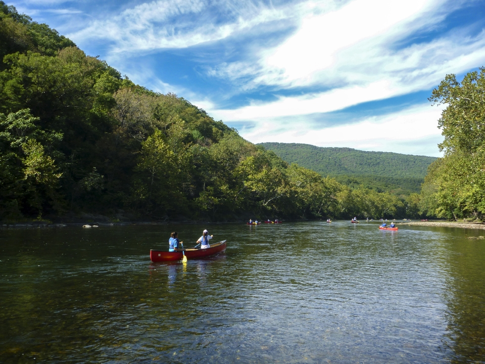 Shenandoah River Outfitters on South Fork River