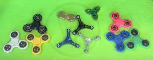 Can't stop fidgeting? There's a spinner for that!