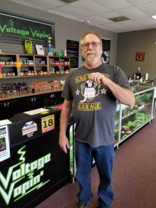 We have another ticket winner at Voltage Vapin'!