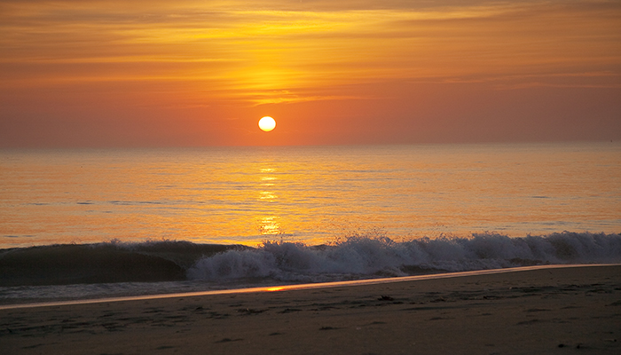 Sunrise at Sandbridge Beach