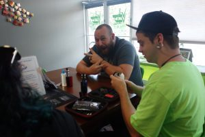 Thanks to our very own Skyler for teaching the Rebuild Class here at Voltage Vapin'!
