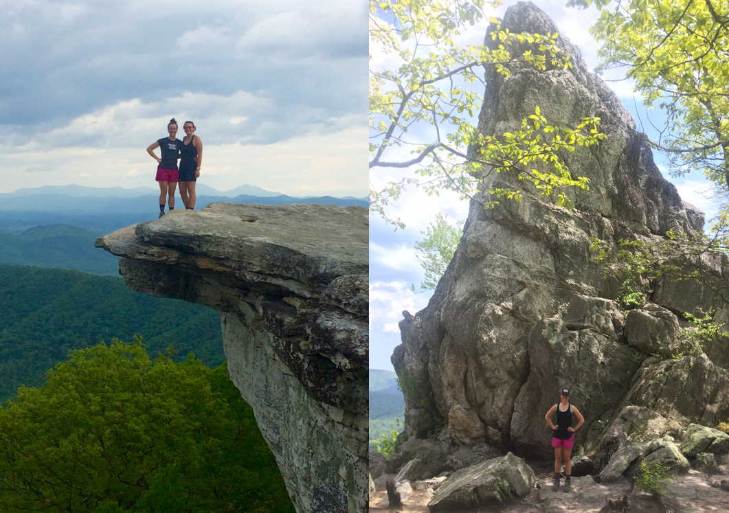 McAfee's Knob and Dragon's Tooth