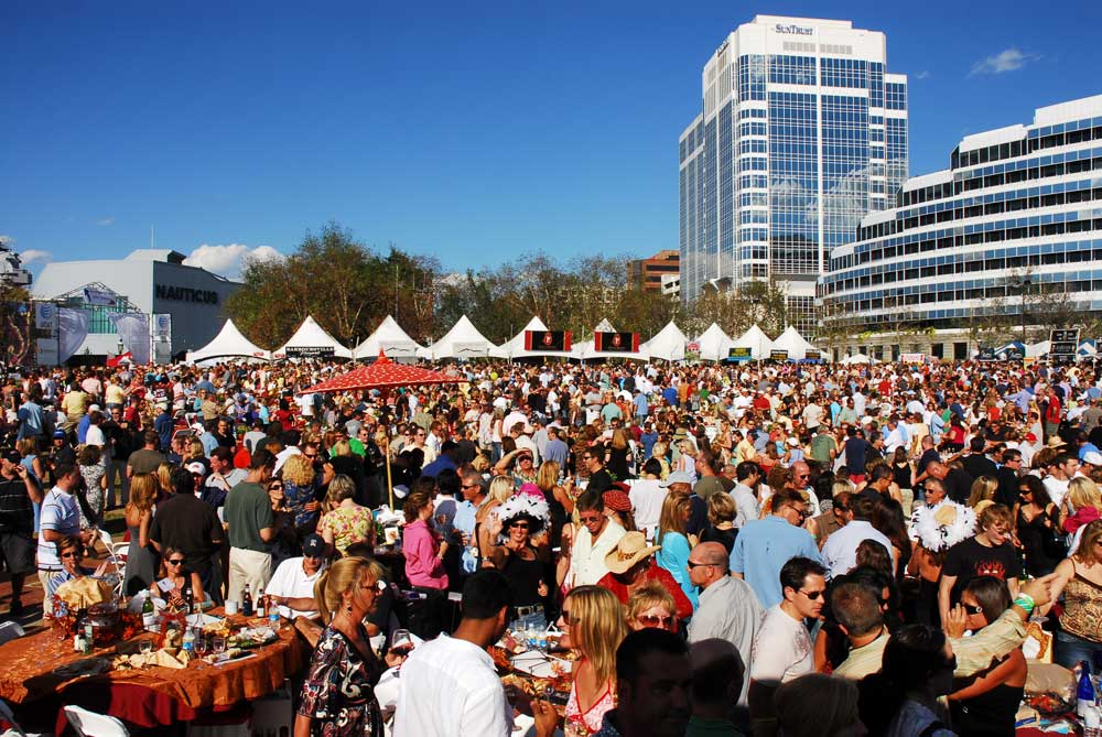 town point wine festival