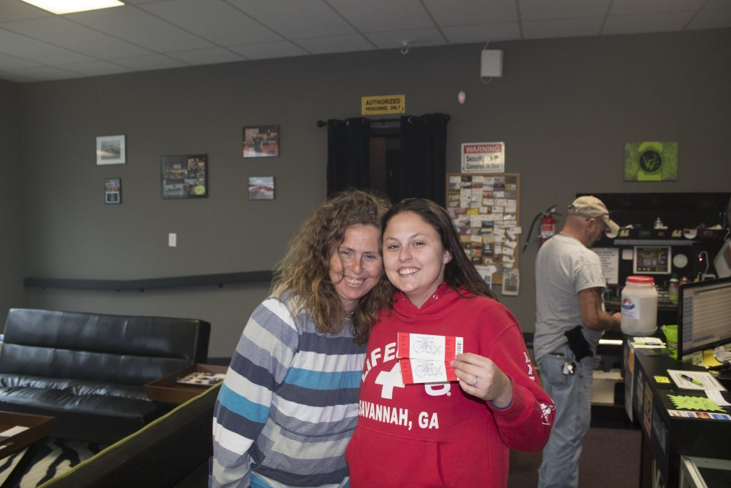 We have a new ticket winner here at Voltage Vapin' and new products!