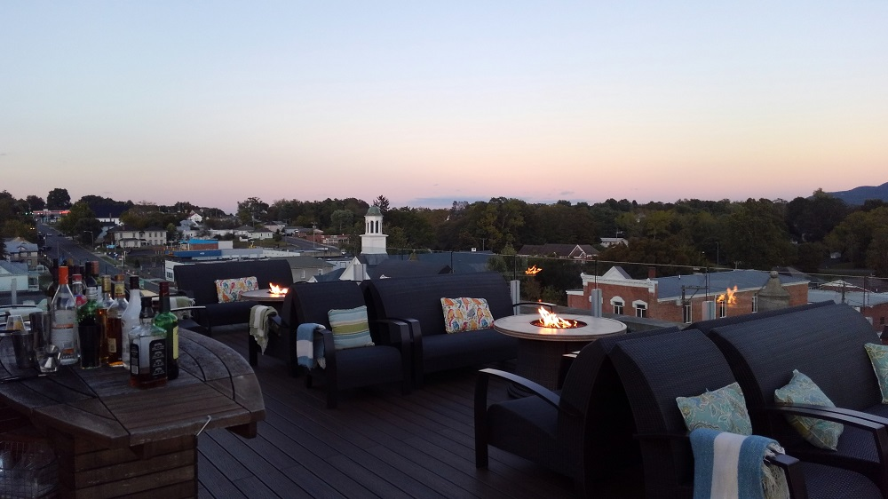 Bolling Wilson Hotel Perch Rooftop Bar