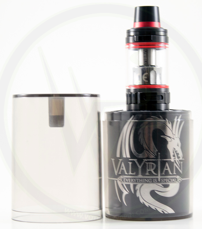 Customize your vaping experience with the Uwell Valyrian from Voltage Vapin'!