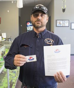 We have another new VSFA member fighting for vapers' rights!