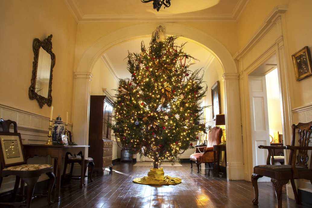 Holidays at Berkeley Plantation