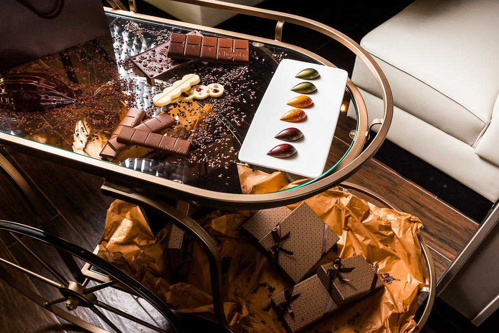 The Conche Chocolate Cart