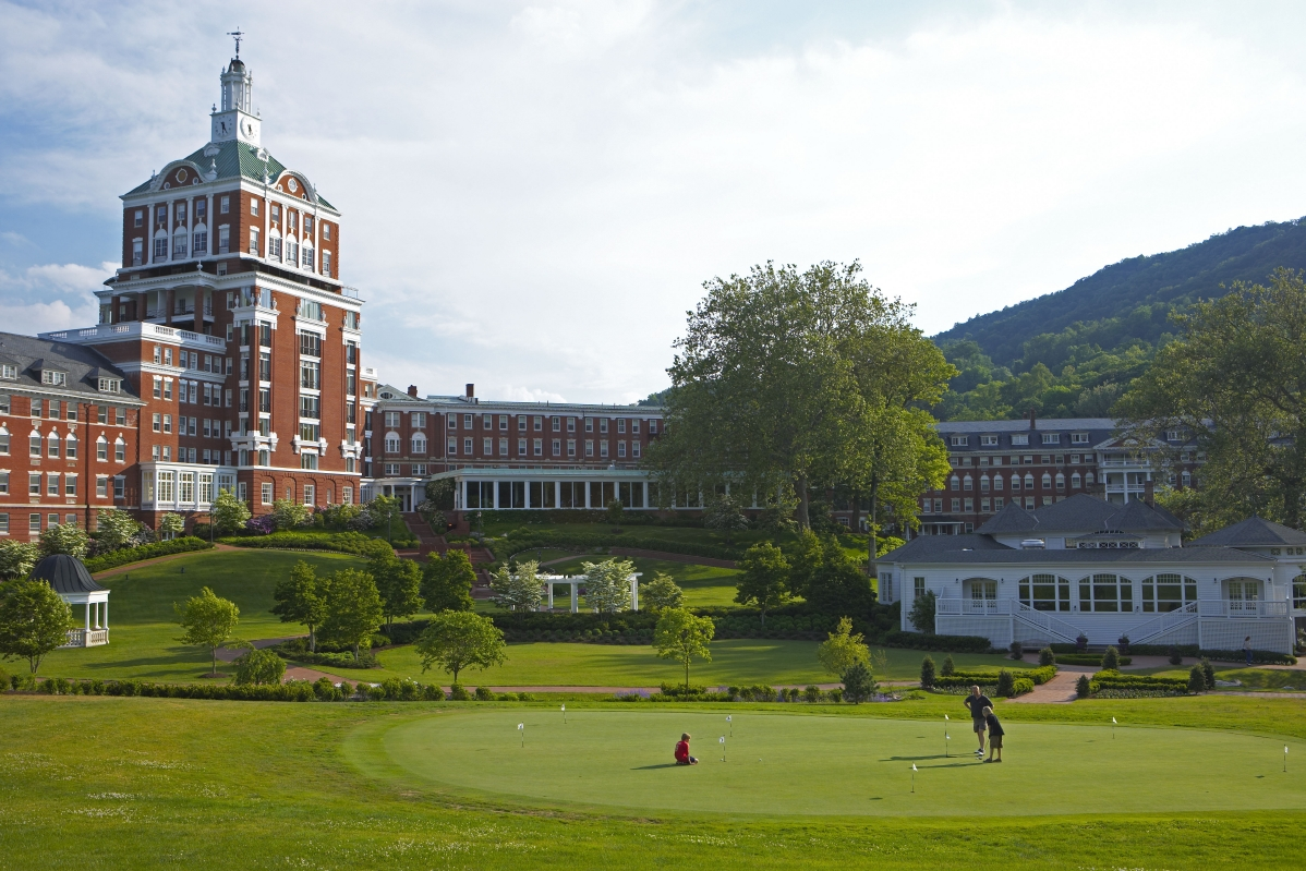 The Omni Homestead Resort
