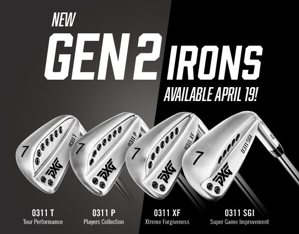 You are currently viewing PXG 0311 Generation 2 irons pre-release fittings available