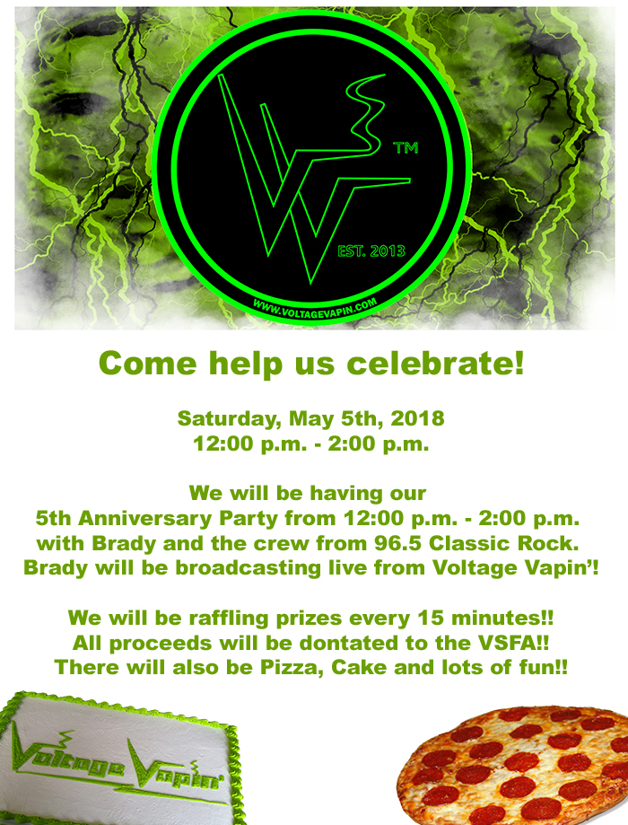 Read more about the article It's almost time to party!  Help us celebrate our 5th anniversary!