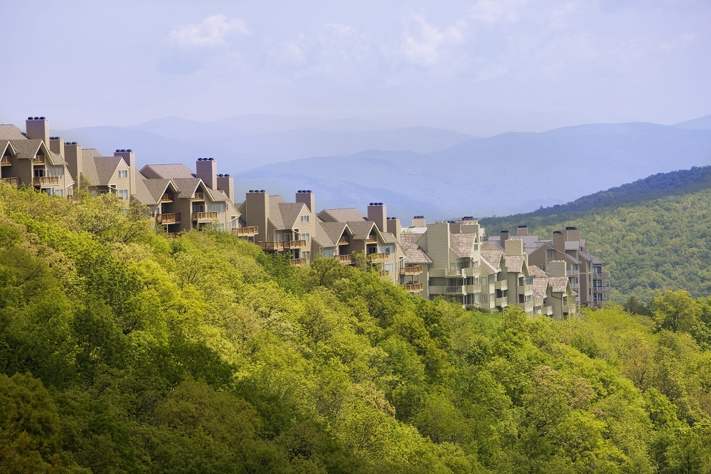 Wintergreen Resort Condos spring