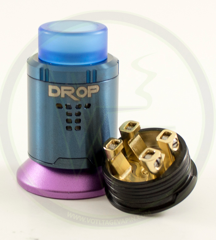 The Drop RDA in blue is back in stock!