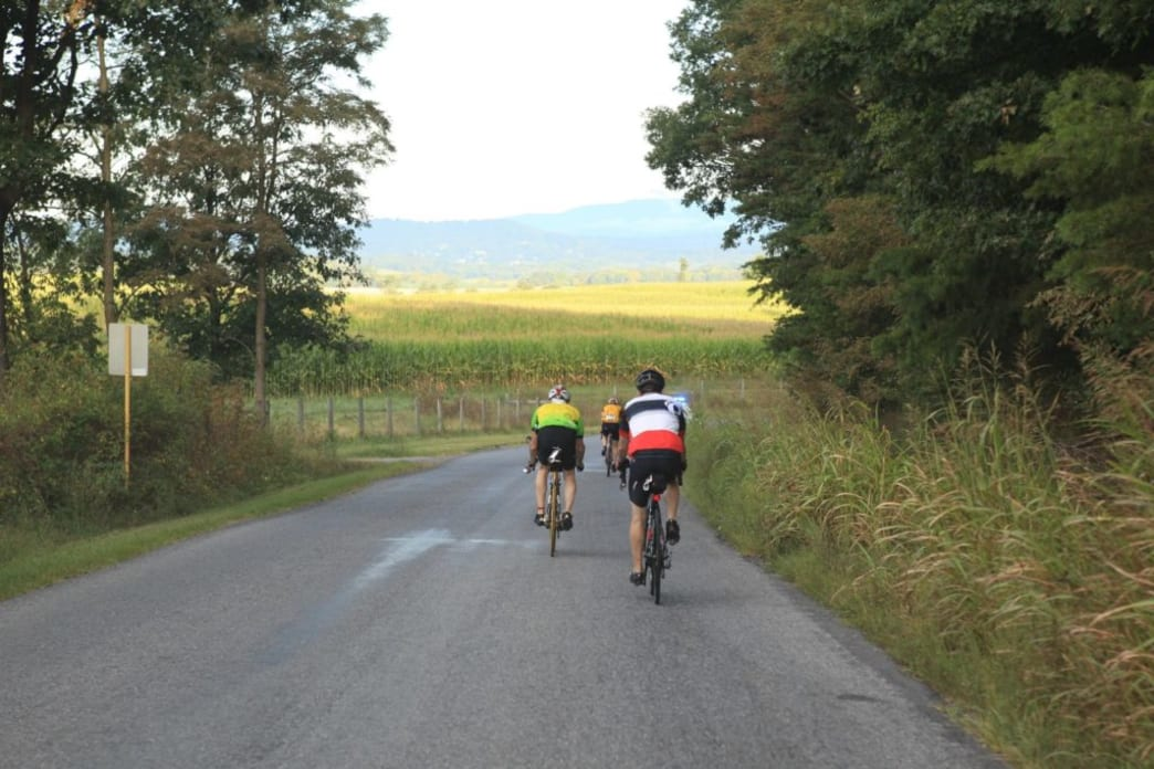 Biking in the Shenandoah Valley