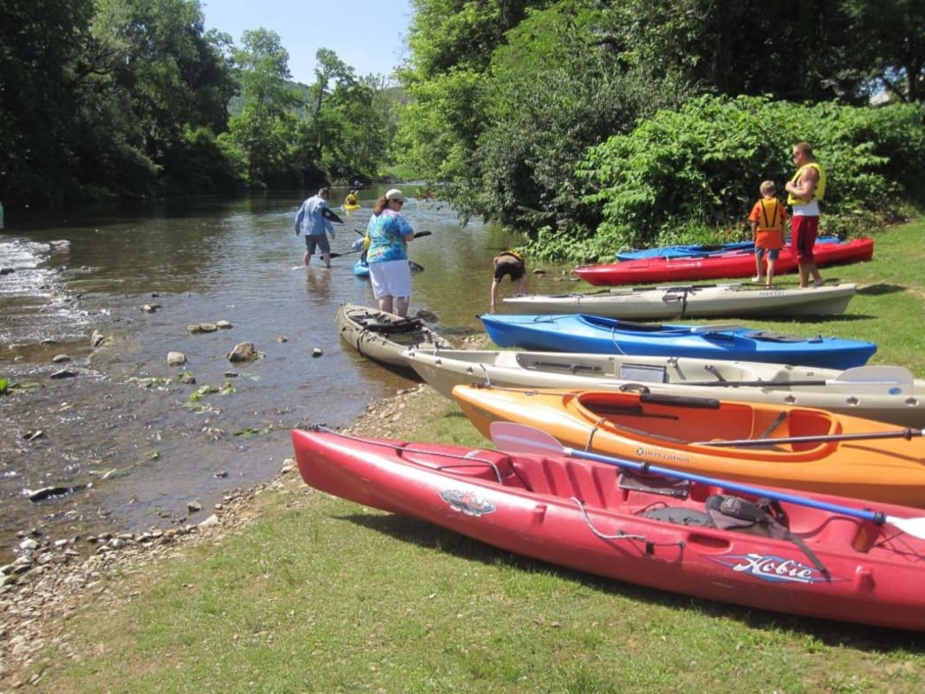 Paddle the Waynesboro Water Trail