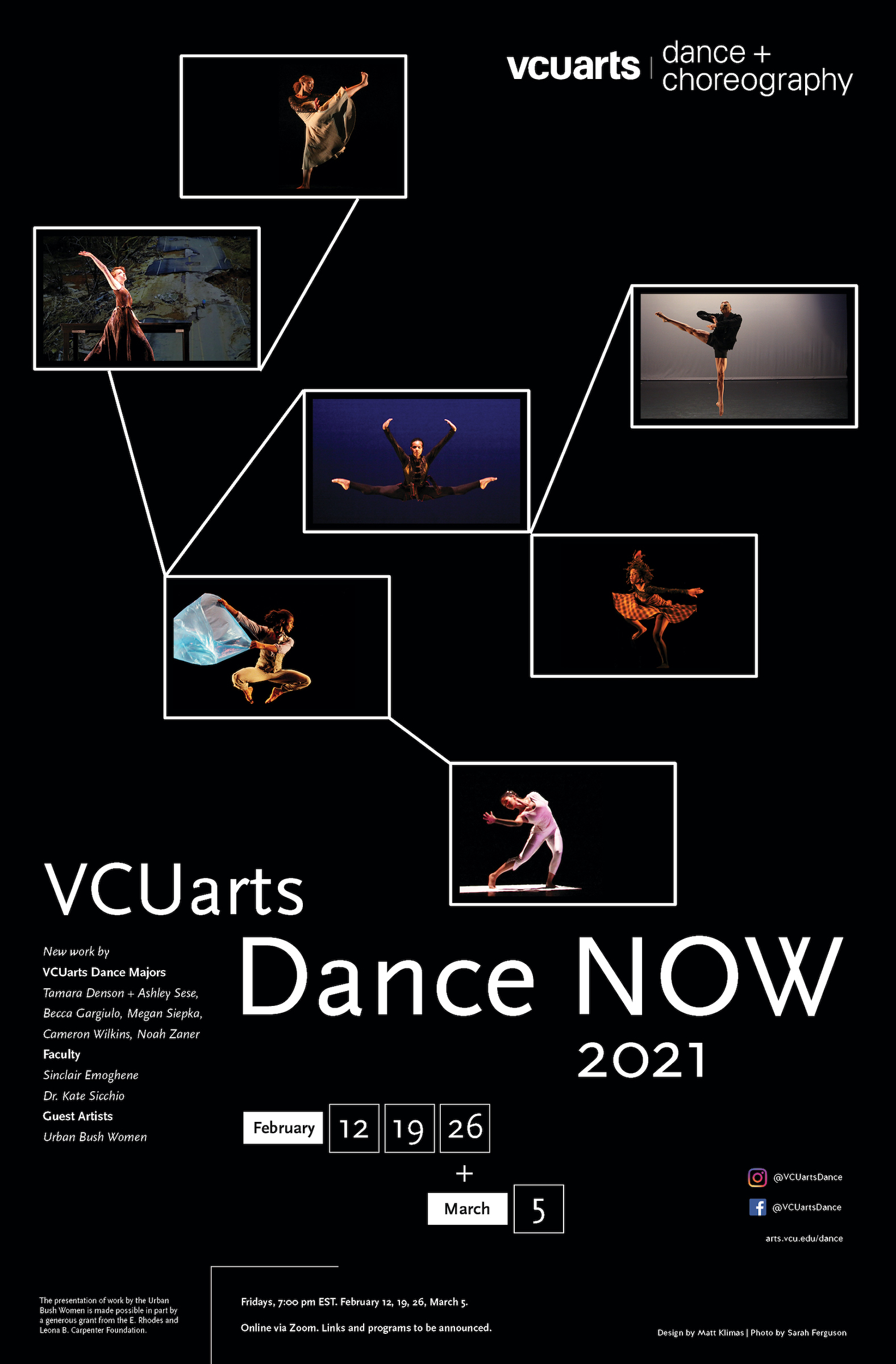 Read more about the article VCUarts Dance presents Dance NOW 2021: Part I – Feeling Distance