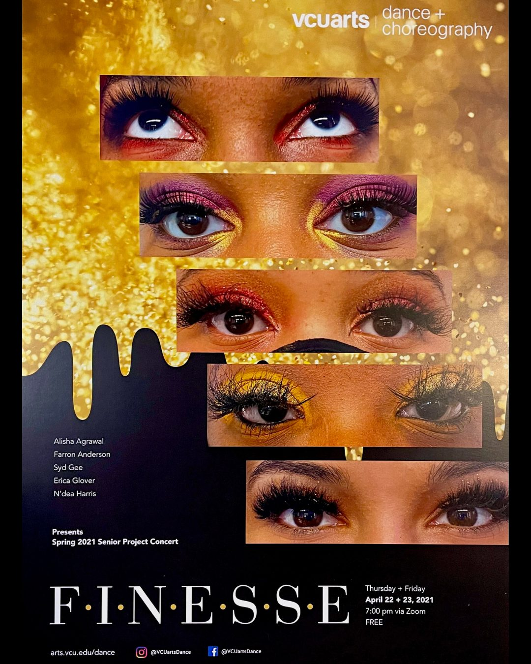 Read more about the article FINESSE: VCUarts Dance Spring 2021 Senior Project Concert