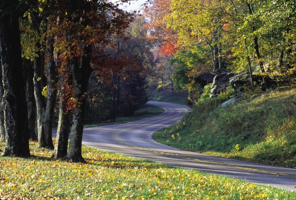 Add Skyline Drive to your route to The Apple House.