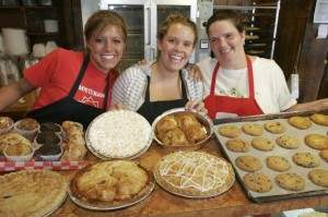 Hill High Country Store offers fresh-baked pies and cookies, local foods, produce, and wines, and handcrafted products.