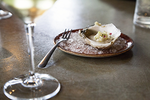 Virginia Oysters with Virginia Wine
