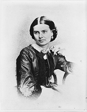 Mrs. Chester Arthur. Photographed between 1857 and 1870. Library of Congress Prints and Photographs Division Washington, D.C. 20540 USA
