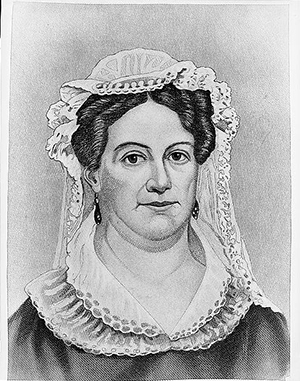 Mrs. Andrew Jackson / engd. by J.C. Buttre. c1883.  Library of Congress Prints and Photographs Division Washington, D.C. 20540 USA