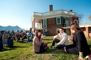 Thomas Jefferson Wine Festival at Poplar Forest