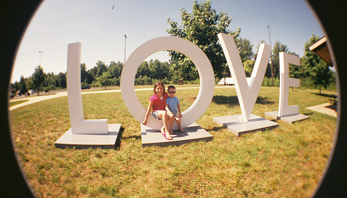 New Kent Welcome Center: LOVEwork. Photo by Casey Higgins