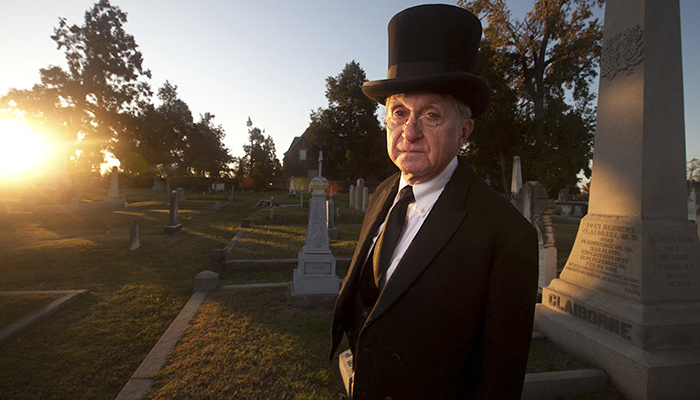 All Hallows Eve at Blandford Cemetery Walking Tour