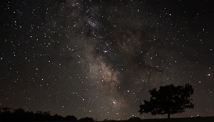 The Milky Way as seen from Shenandoah National Park. Photo by John H. Messner.
