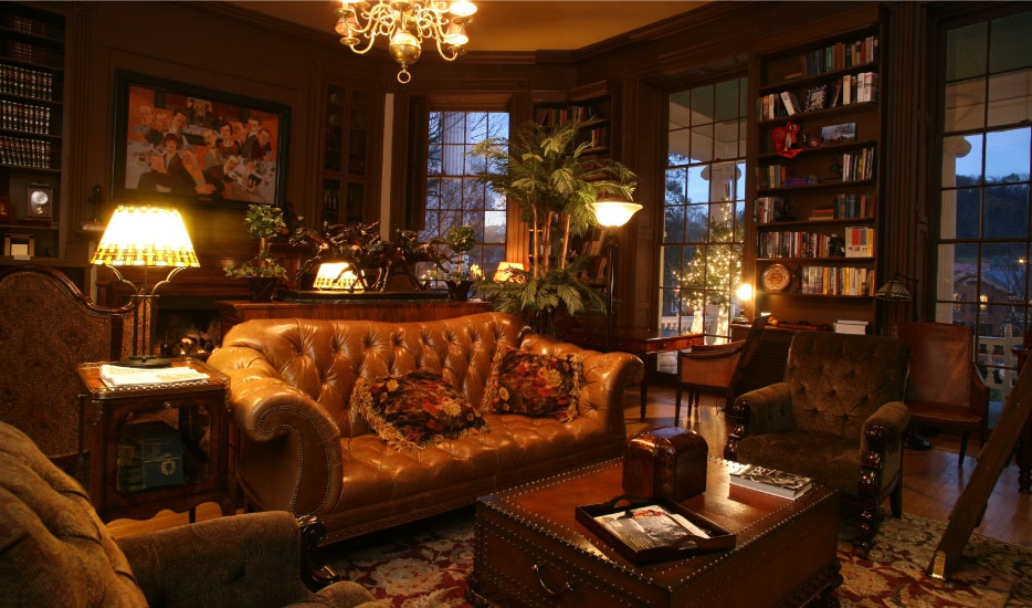 The Library at The Martha Hotel.